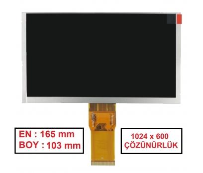 7300101463 Ekran (Lcd Ekran, iç Ekran) Tablet iç ekranı