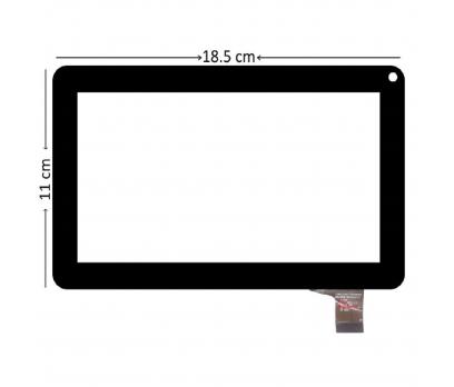 ZHC-0590 Dokunmatik Tablet Camı Siyah Tablet Ön Camı