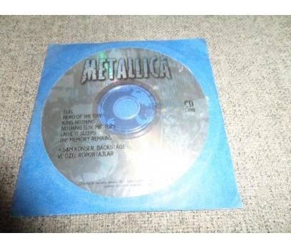 CD ROM METALLICA PROJECT MÜZİK KLİPLERİ RESİMLER