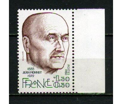 FRANSA ** 1980 JEAN MONNET TAM SERİ (040415)