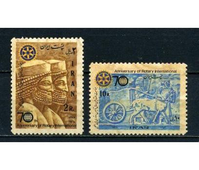 İRAN ** 1975 ROTARY 70. YILI TAM SERİ (100715)