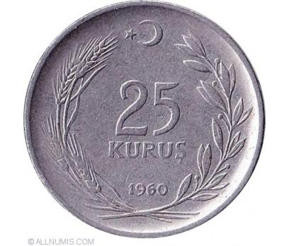 MADENİ 25 Kuruş (1960)