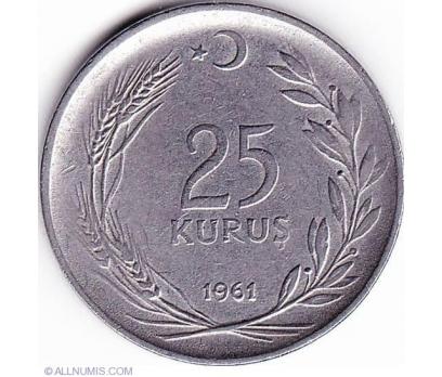 MADENİ 25 Kuruş (1961)
