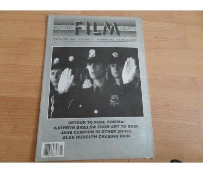 MONTHLY FILM BULLETIN NOVEMBER 1990 VOLUME 57
