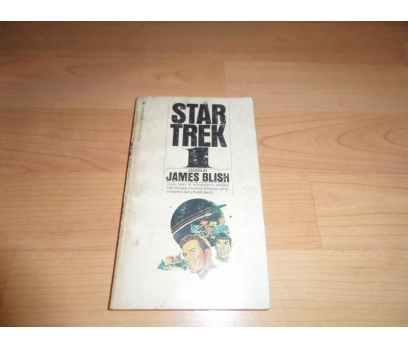 STAR TREK James Blish YABANCI DİL ROMAN