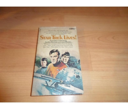STAR TREK LIVES YABANCI DİL ROMAN