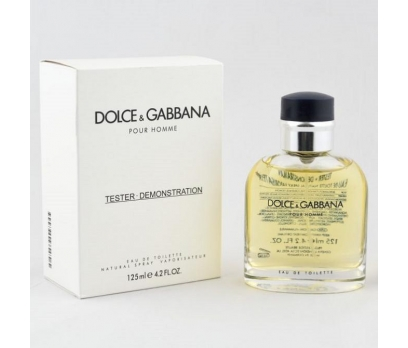 TESTER KUTULU DOLCE GABBANA POUR HOMME EDT