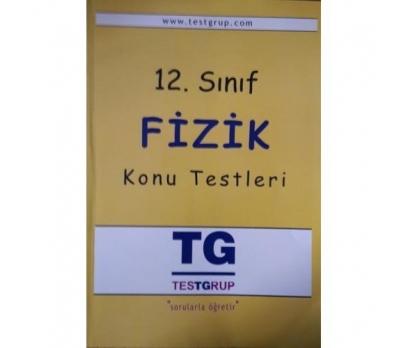 TESTGRUP 12. SINIF FİZİK KONU TESTLERİ