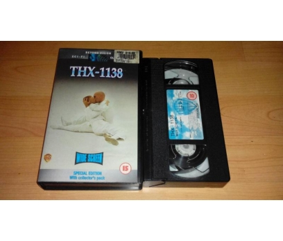 THX 1138 Robert Duvall George Lucas VHS FİLM