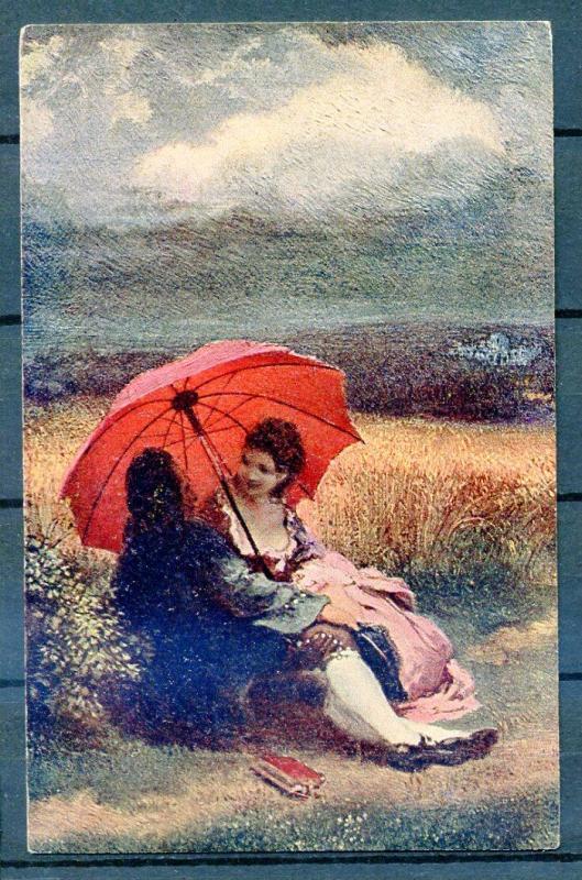 ROMANTİK KARTP. 1917 LÜBNAN DAMGALISÜPER (18-22) 1
