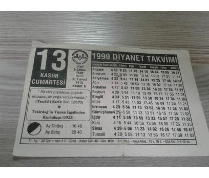 13 KASIM 1999