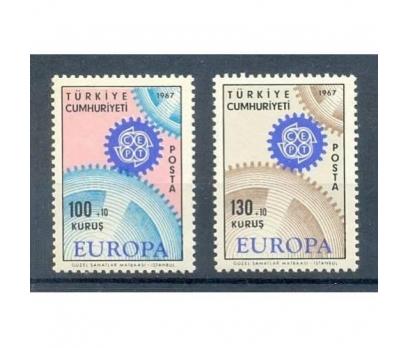 1967-CEPT TAM SERİ PULLAR
