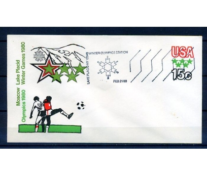 ABD 1980 OLİMPİYATLAR & FUTBOL ANTİYE SÜPER(18-5 )