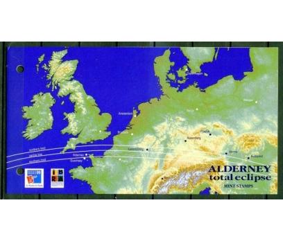 ALDERNEY ** 1999  GÜNEŞ TUTULMASI SÜPER  (18-5 ) 2