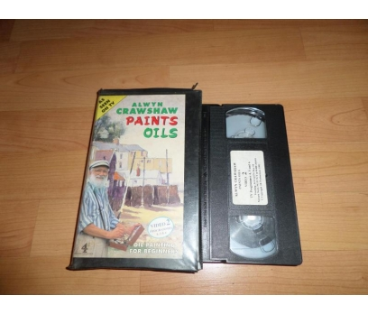 ALWNY CRAWSHAW PAINTS OILS VIDEO 2 VHS FİLM