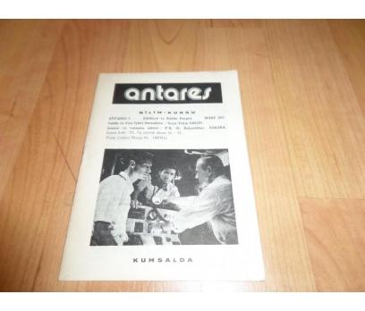 ANTARES BİLİM KURGU DERGİSİ MART 1977