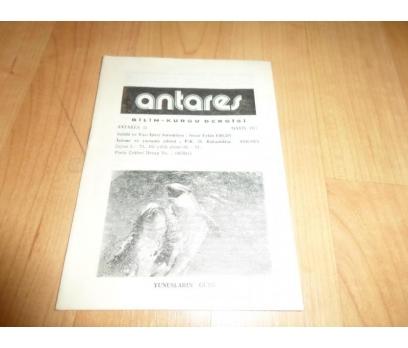 ANTARES BİLİM KURGU DERGİSİ MAYIS 1977