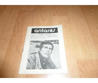 ANTARES BİLİM KURGU DERGİSİ OCAK 1977