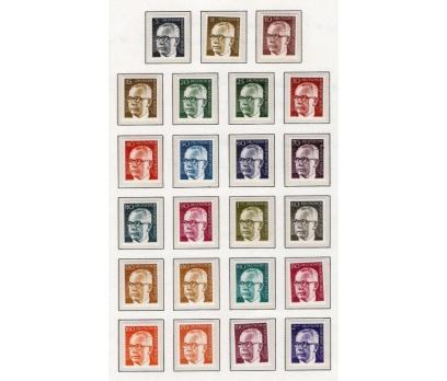BERLİN ** 1971-73 POSTA 3 TAM SERİ SÜPER (18-24)
