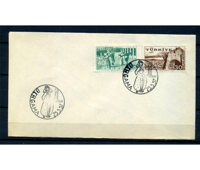 CUMH.FDC 1957 BERGAMA KERMESİ SÜPER (18-21)