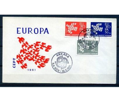 CUMH.FDC  1961 EUROPA CEPT SÜPER (18-21)