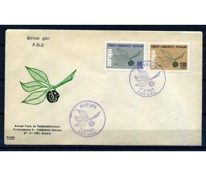 CUMH.FDC 1965 EUROPA CEPT KAMER (18-21)