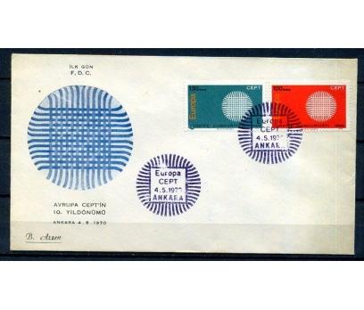 CUMH.FDC 1970 EUROPA CEPT B.ARSEN(18-21)
