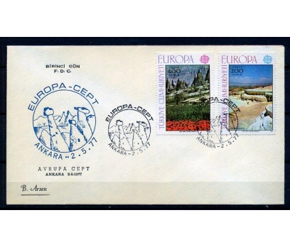 CUMH.FDC 1977 EUROPA CEPT B.ARSEN(18-21) 1