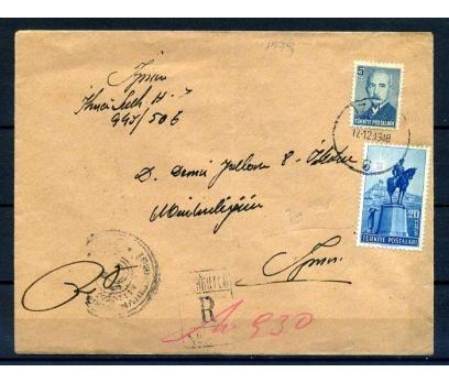 CUMH.PGTZ 1948 CUMH.25.YILI 20 KRŞ PULUYLA (18-22) 1