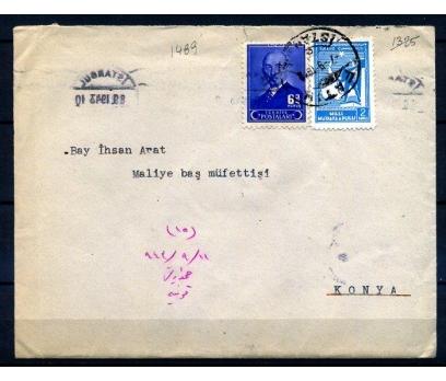 CUMH.PGZ 1943 FATİH DAMGALI İNÖNÜ MM P.(18-22)