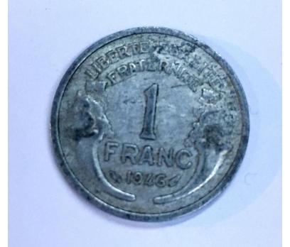 D&K-FRANSA 1 FRANCS 1946 YILI ALÜMİNYUM