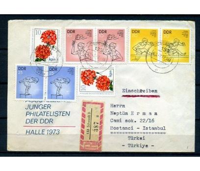DDR 1977 SPOR 3 VALÖR PER PUL İST.'A PGTZ (18-22)