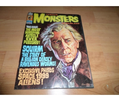 Famous Monsters of Filmland Magazine 130 ARALIK 76