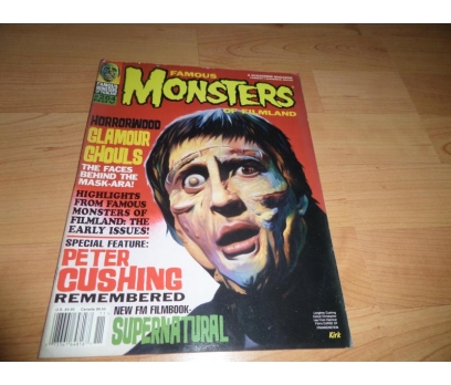Famous Monsters of Filmland Magazine 204