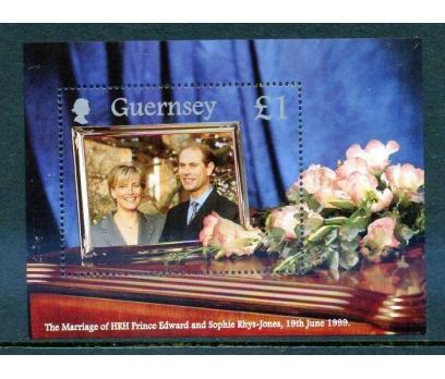 GUERNSEY ** 1999 KRALİYET DÜĞÜNÜ P.EDWARDS(18-5 )