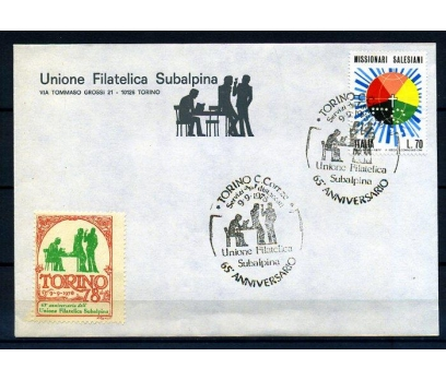 İTALYA 1978 İGD. TORİNO S. VİNYETLE ANTİYE (18-5 )