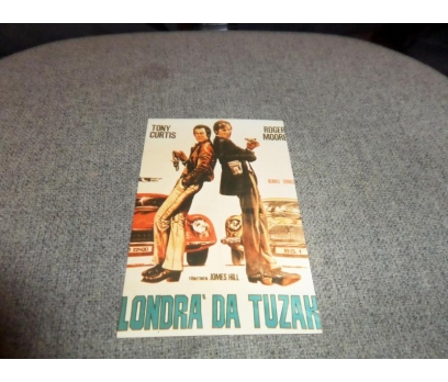 LONDRA'DA TUZAK TONY CURTIS ROGER MOORE LOBİ
