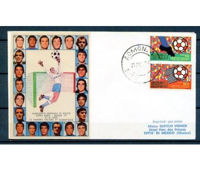 MEKSİKA 1969 ÖD D. KUPASI FUTBOL İPEK KAŞET(18-5 ) 1