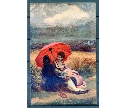 ROMANTİK KARTP. 1917 LÜBNAN DAMGALISÜPER (18-22)