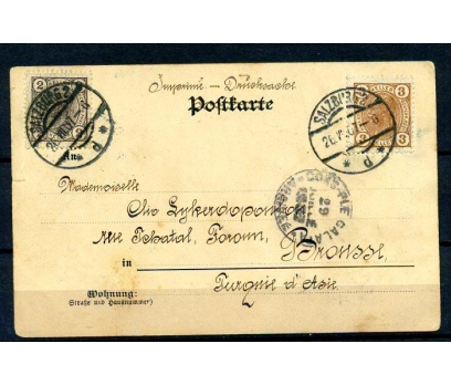 SALZBURG PG 1907 KP BURSA'YA GÖNDERİLMİŞ (18-22) 2