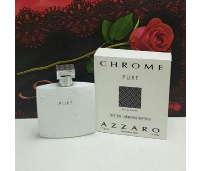 TESTER AZZARO CHROME PURE EDT 100 ML