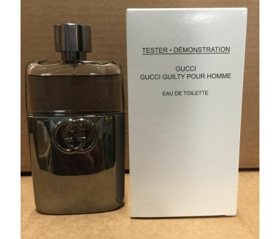 TESTER GUCCİ GUİLTY HOMME EDT 90 ML
