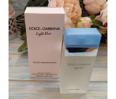 TESTER KUTULU DOLCE GABBANA LİGHT BLUE EDT WOMEN