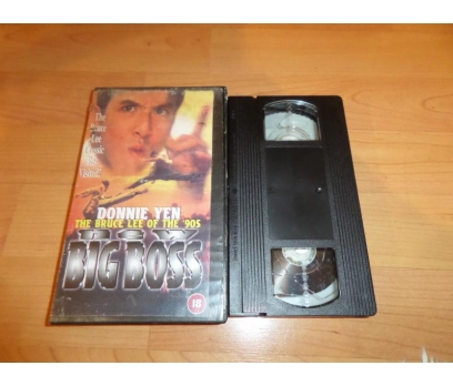 THE BRUCE LEE OF THE 90S NEW BIG BOSS VHS FİLM