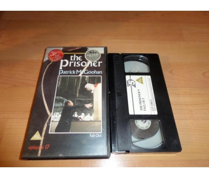 THE PRISONER FALL OUT PATRICK M GOOHAN VHS FİLM