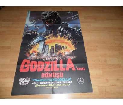 THE RETURN OF GODZILLA GODZİLLANIN DÖNÜŞÜ AFİŞ