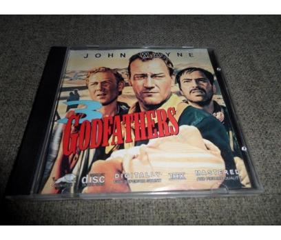 VCD 3 Godfathers John Wayne, Pedro Armendáriz,