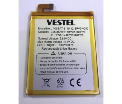 Vestel Venüs V3 5020 Orjinal Sıfır Batarya