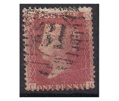 1858 İngiltere Queen Victoria Damgalı