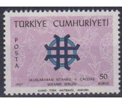 1967 V. Çağdaş Seramik Sergisi Damgasız**